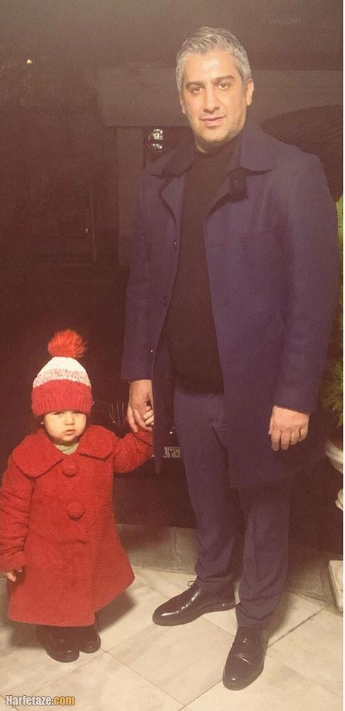 تصاویر دیده نشده از فرزاد مجیدی و دخترش درسا