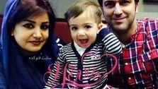 عکس دیده نشده از همسر حامد آهنگی در آغوشش +تصاویر دونفره