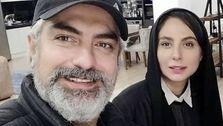 عکس دیده نشده از مهدی پاکدل در کنار همسر جدیدش