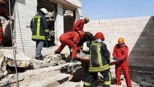 کشته و زخمی شدن 4 کارگر بر اثر ریزش آوار در مشهد