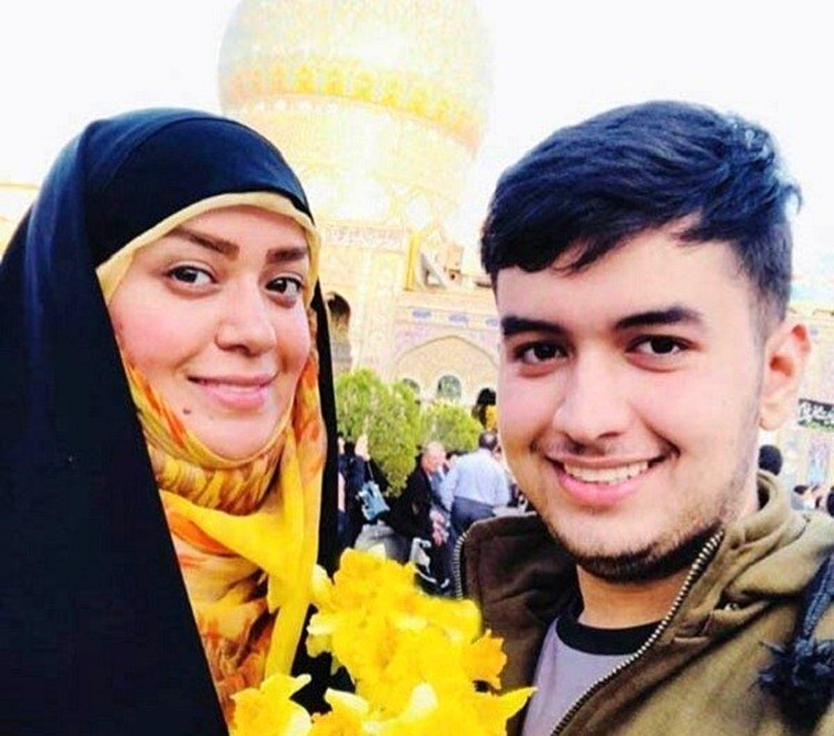 عکس جنجالی الهام چرخنده و شوهرش در روز تاسوعا