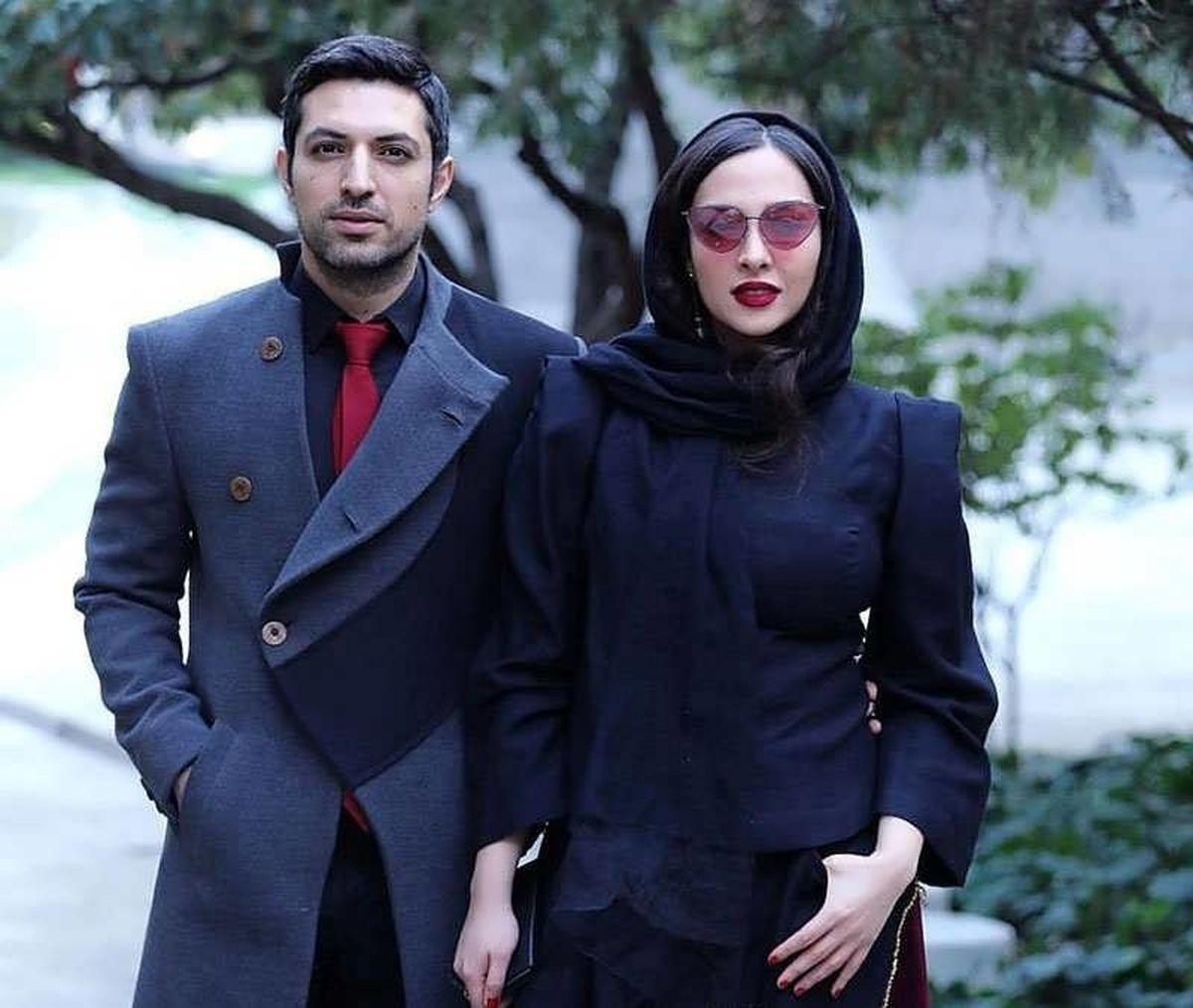 اشکان خطیبی برای همسرش مدل شد! +تصاویر عاشقانه اشکان خطیبی