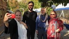 عکس جدید بهاره رهنما در کنار همسر و فرزندش