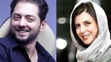 عکس دیدنی عروسی بهرام رادان و لیلا حاتمی!