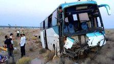 حادثه جدید برای اتوبوس مسافری؛ 21 نفر مصدوم شدند