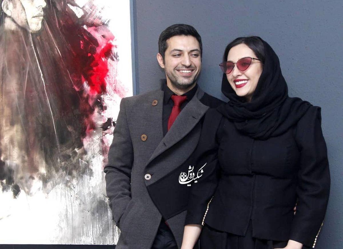 اشکان خطیبی برای همسرش مدل شد! +تصاویر عاشقانه