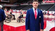گغارد طهماسیان، اولین داور ایرانی بازیهای بسکتبال پارالمپیک شد