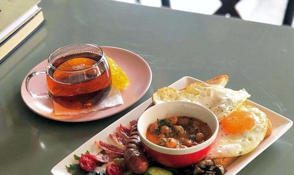 منوی کافه دو سه تهران
