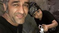 پسر زیرخاکی پژمان جمشیدی! +عکس دونفره
