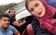 عکس لورفته از جشن عقد نوید محمدزاده و فرشته حسینی