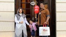عکس جدید یکتا ناصر در کنار همسر و فرزندش