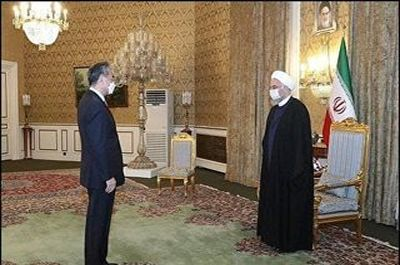 آمریکا می خواهد بازگردد: خبر وزیر خارجه چین برای روحانی