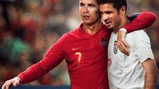 واکنش دایی به گل 109 کریستیانو رونالدو