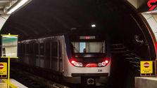 وقوع حادثه در مترو؛ برخورد وحشتناک دختر تهرانی با قطار