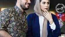 عکس دیده نشده از جواد عزتی و همسرش در فضای مجازی
