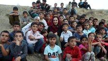 نیکی کریمی در جمع کودکان روستایی! +عکس دیده نشده