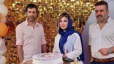 جشن تولد لاکچری نیوشا ضیغمی بدون حضور همسرش! +فیلم و عکس