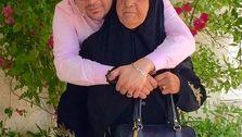 عاشقانههای شهرام قائدی و مادرش +تصاویر دونفره