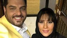 بیوگرافی و عکس جدید سام درخشانی و همسرش