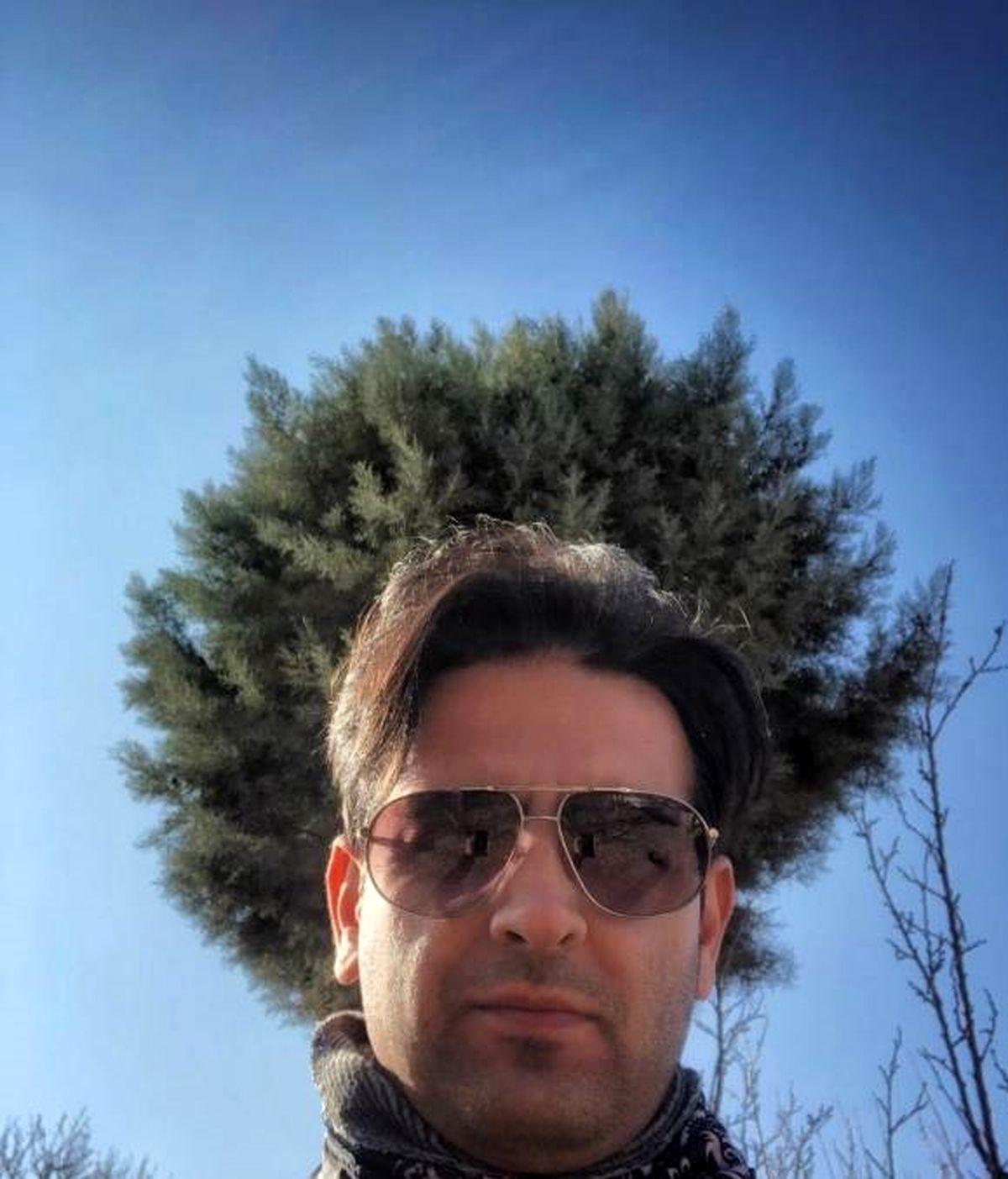کویر نوردی امیرحسین آرمان + عکس دیده نشده