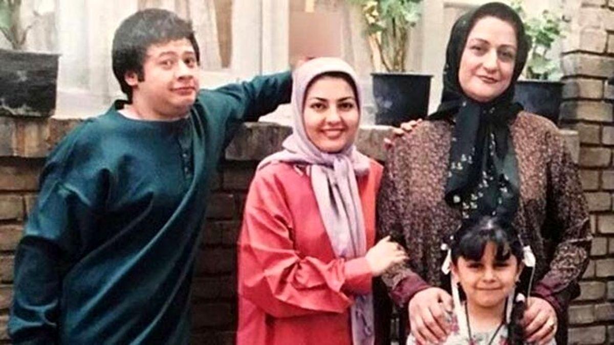 علی صادقی از همسرش رونمایی کرد +عکس خانوادگی